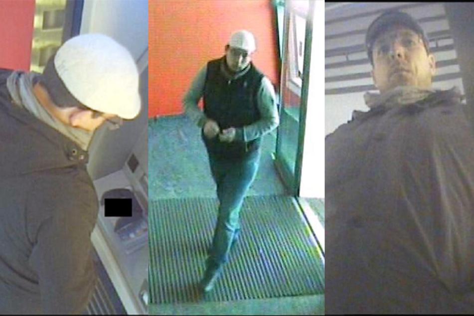 Die Leipziger Polizei sucht einen unbekannten Dieb und Betrüger.
