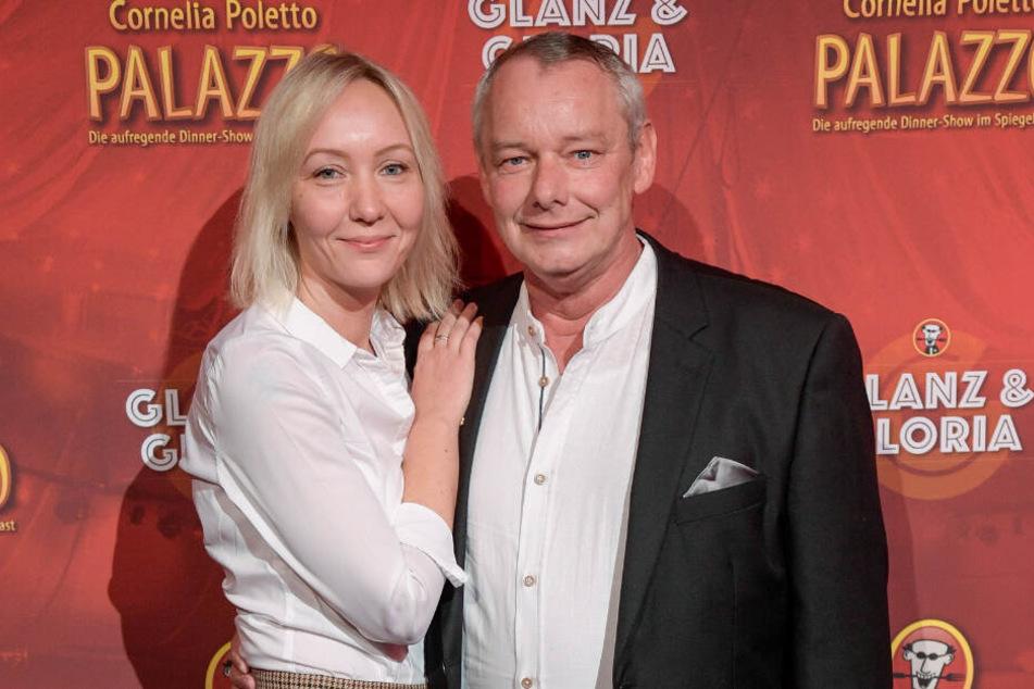 Ein Bild aus glücklicheren Tagen: Melanie mit ihrem Lebensgefährten Harry Schulz.
