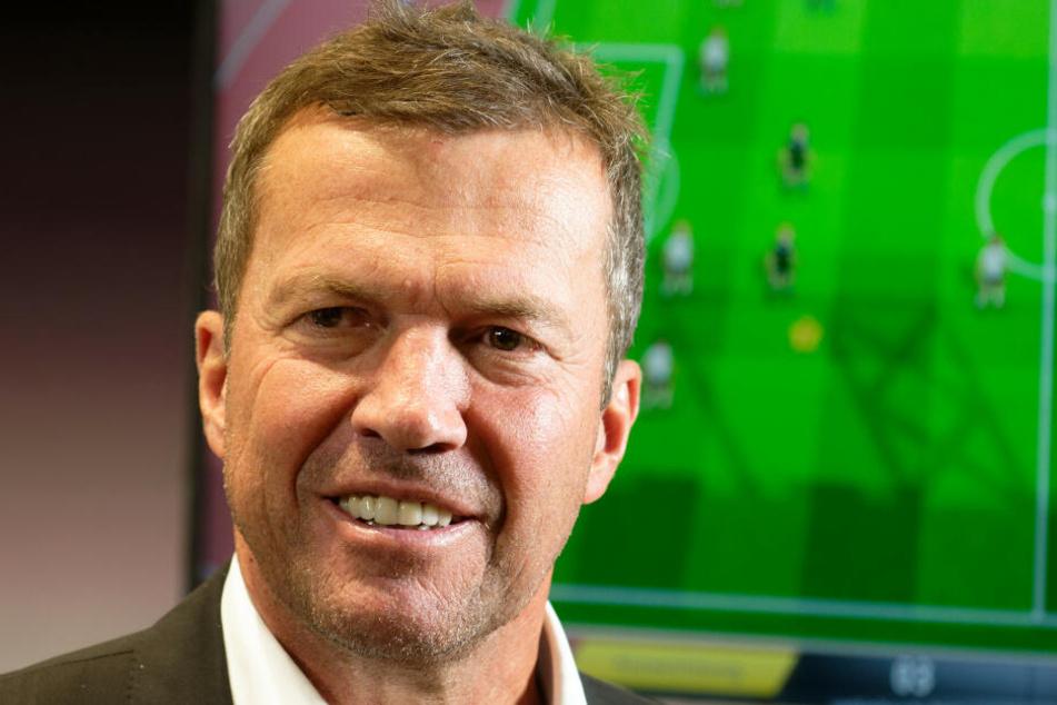 Ex-Fußballer Lothar Matthäus (58) äußerte sich am Dienstag auf der Gamescom in Köln zum Thema E-Sport.
