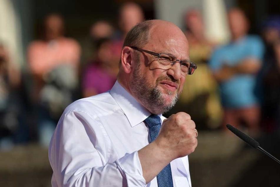Martin Schulz gibt sich kämpferisch und attackiert die Politik von