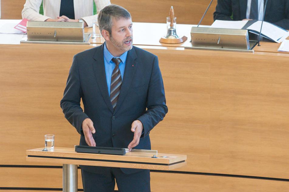 Albrecht Pallas (36, SPD) zeigte sich fassungslos über die Bemerkung des AfD-Abgeordneten.