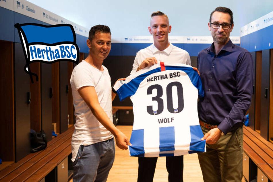 """Wechsel bestätigt! BVB verleiht""""Maschine"""" Wolf an Hertha BSC!"""