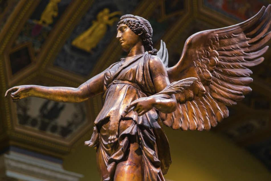 Das Logo wurde von den Flügeln der griechischen Göttin Nike inspiriert.
