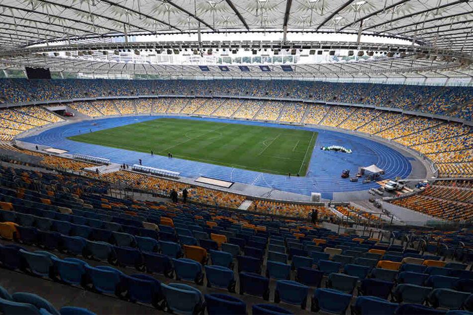 Im Olympiastadion von Kiew findet am 26. Mai das Champions-League-Finale statt.