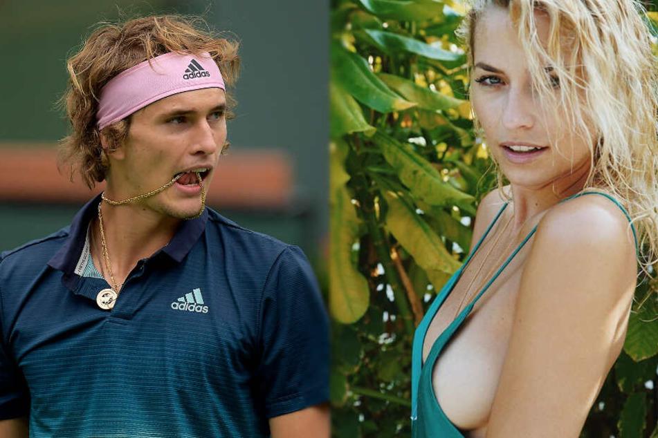 Tennis-Star Zverev packt aus: So lief es wirklich mit Lena Gercke!