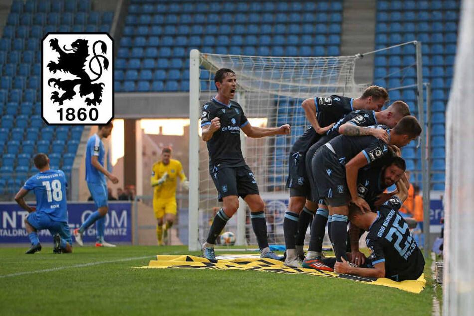 So wichtig! TSV 1860 entführt drei Punkte aus Chemnitz