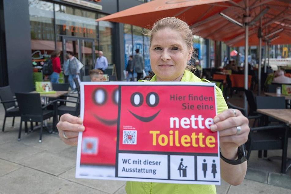 Restaurantfachfrau Anett Haderer (49) vorm Cortina.
