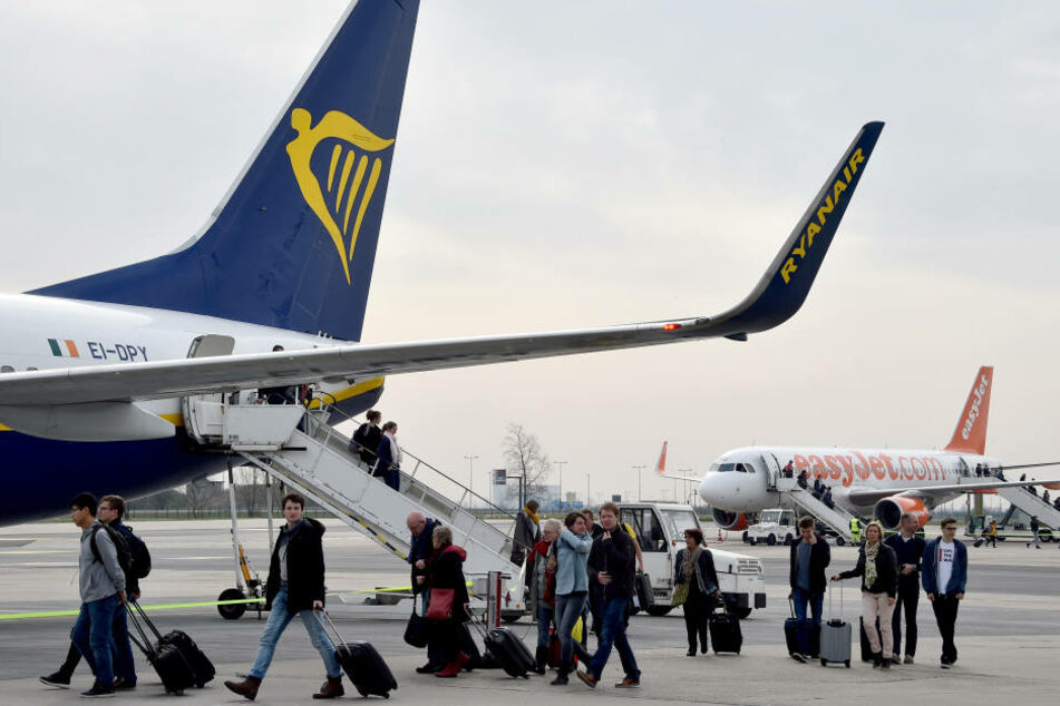 Bald sind auch Ryanair-Flugzeuge ein gewohntes Bild am Düsseldorf Flughafen.