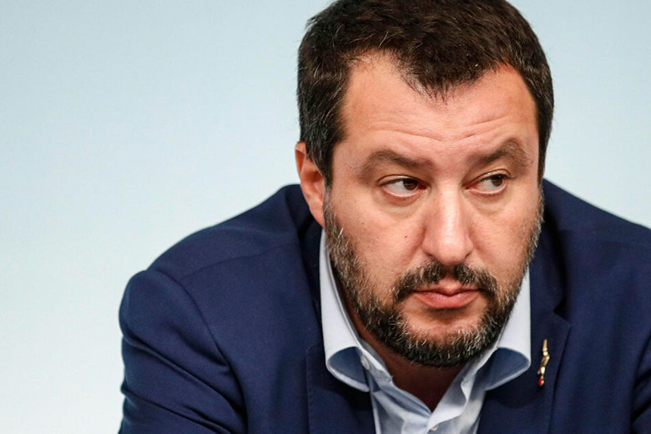 Italiens Innenminister Matteo Salvini. Die italienische Regierung stimmte den neuen Haushalts-Plänen für 2019 zu.