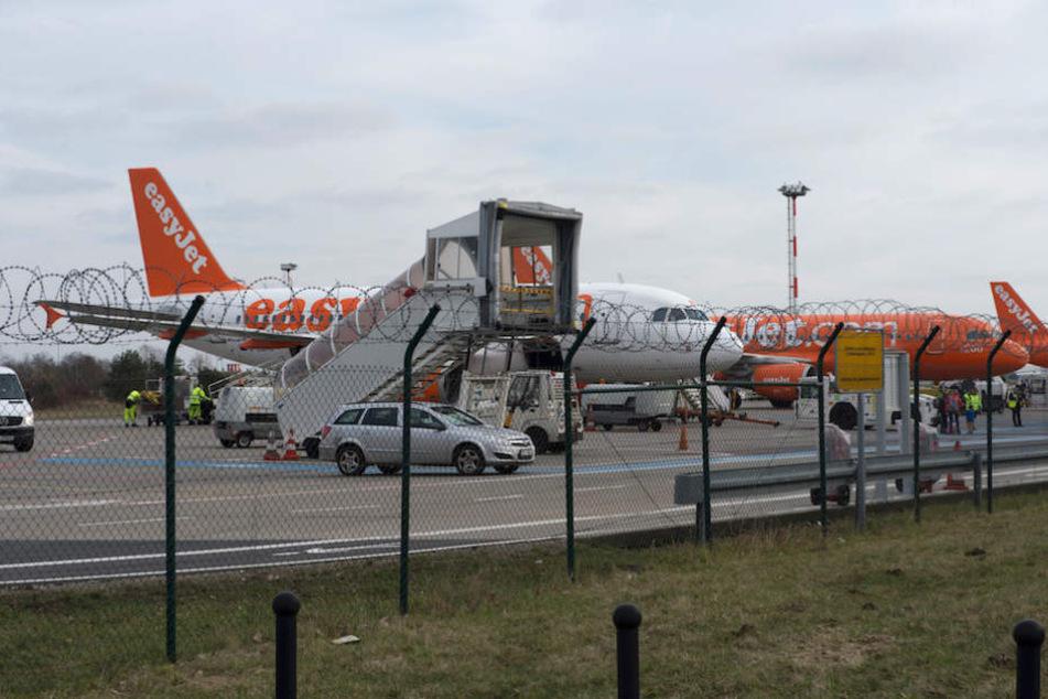 Der Flughafen Berlin-Schönefeld. (Archivbild)