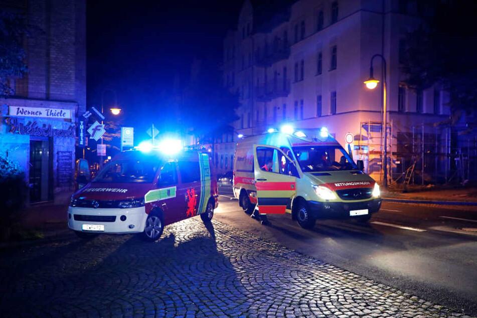Wohnungsbrand: Vier Bewohner im Krankenhaus