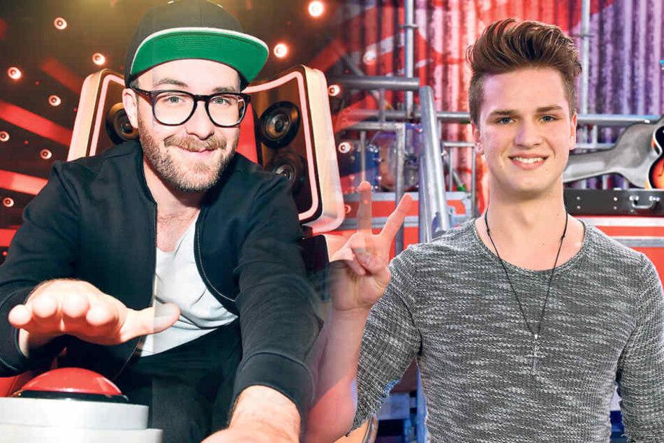 """Gabriel Mommer (14) aus Görlitz hat es bei """"The Voice Kids"""" in die Battles geschafft. Er ist im Team von Mark Forster (34)."""