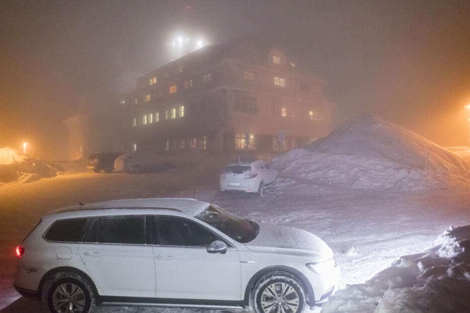 Im Erzgebirge herrscht noch tiefster Winter.