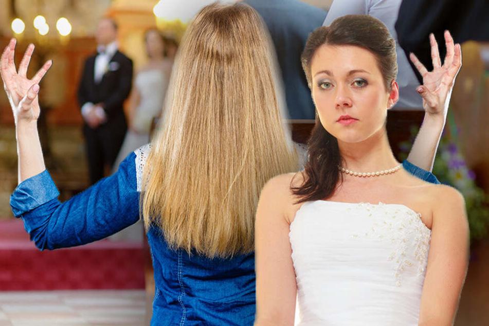 Die Schwester machte die Braut so wütend, dass diese sie überall blockierte. (Symbolbild)