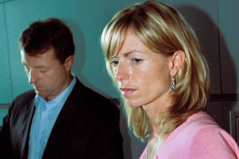 Kate und Gerry McCann am 6. Juni 2007, als ihre Tochter gut einen Monat verschwunden war.