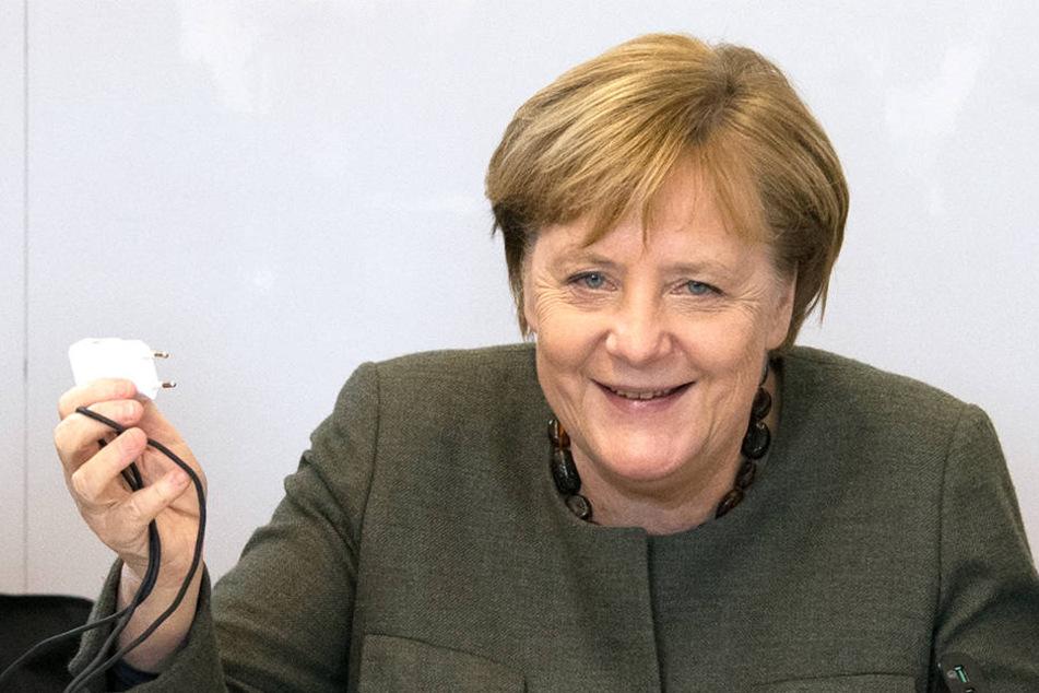 Hat ein Politiker der Alternative für Deutschland Angela Merkel Gewalt angedroht?