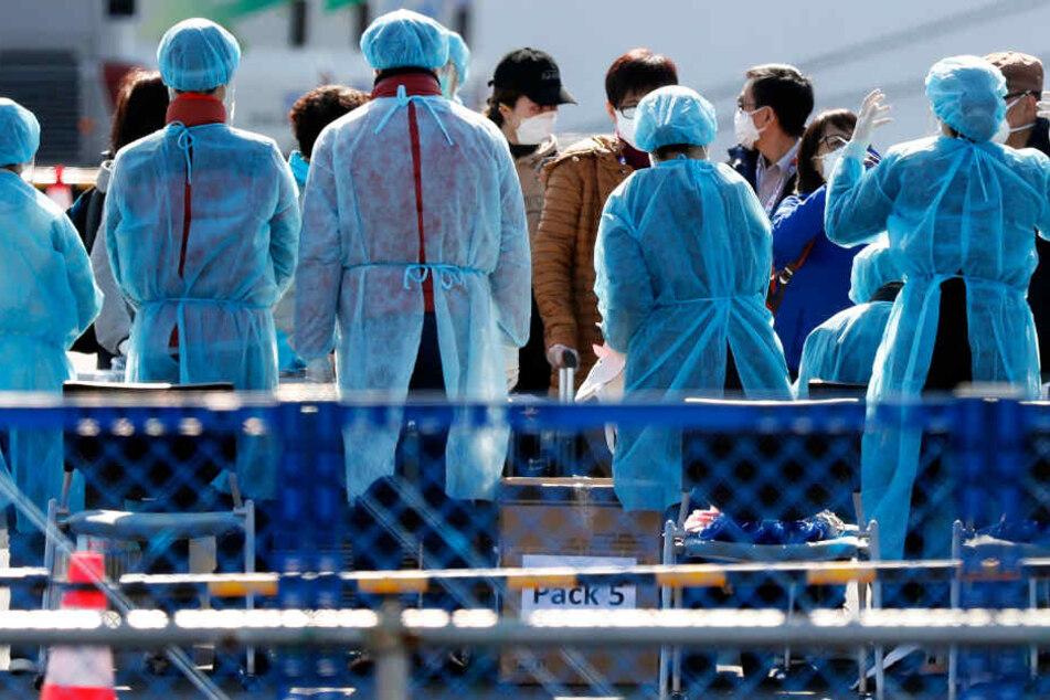 Japan meldet ersten Corona-Fall nach Verlassen des Quarantäneschiffs.