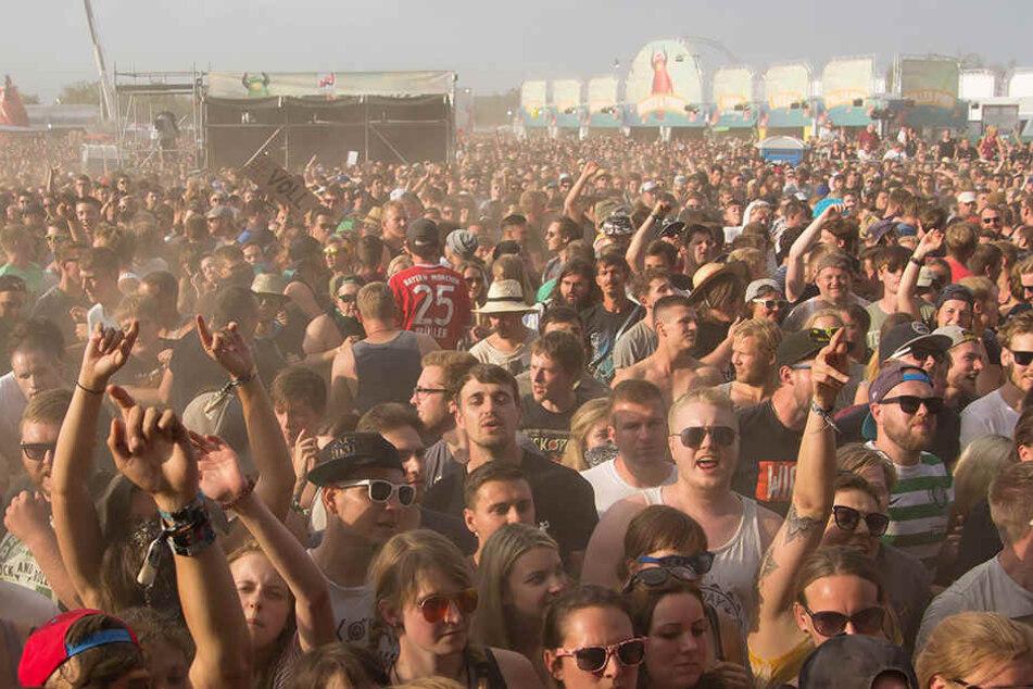 Viele Besucher auf dem Highfield-Festival wurden ausgeraubt.