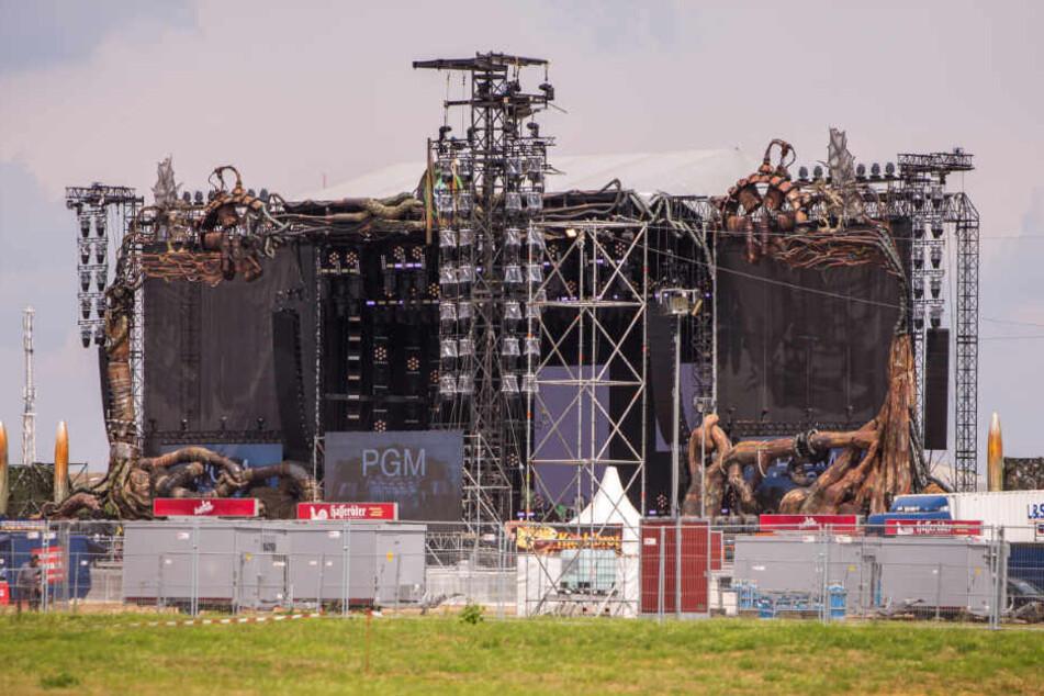 Von der gigantischen Bühne auf dem Messeglände wehte die Musik bis in den Süden.