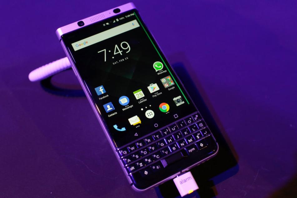 Das neue Tasten-Smartphone von Blackberry kostet 600 Euro und kann so einiges.