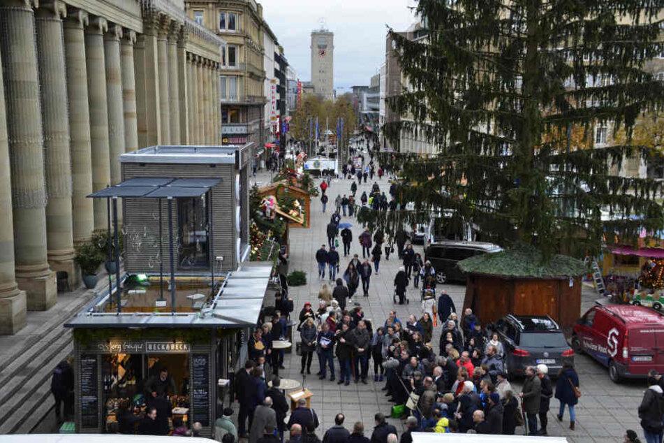 Am Mittwoch soll der Weihnachtsmarkt endlich eröffnen!