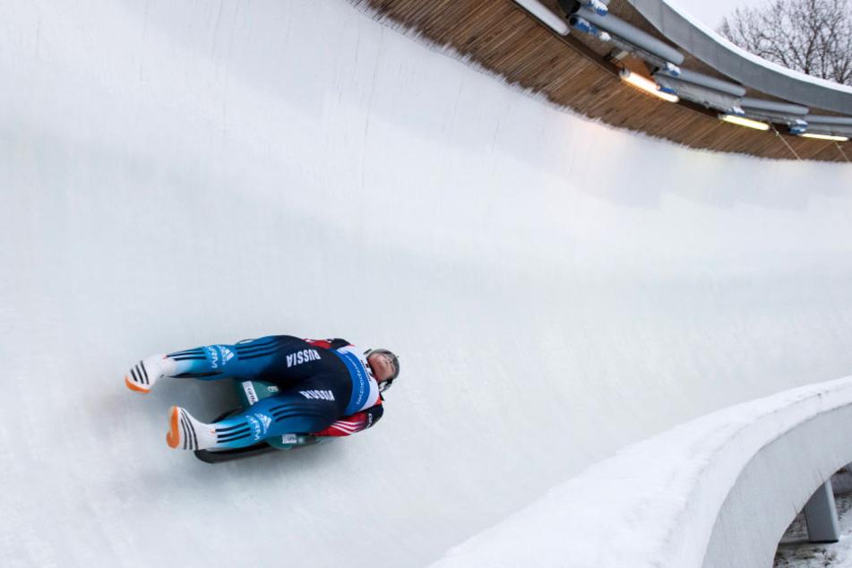 Viktoria Demtschenko verletzte sich beim Rodel-Weltcup.