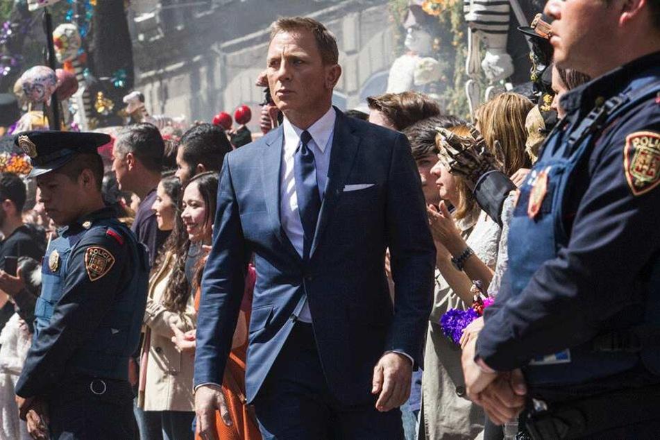 """Szene aus """"Spectre"""": Daniel Craig wird im nächsten James Bond-Film zum letzten Mal Geheimagent 007 verkörpern."""