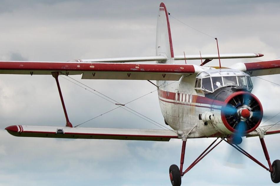 Mitten in der Luft riss der Propeller plötzlich ab. (Symbolbild)