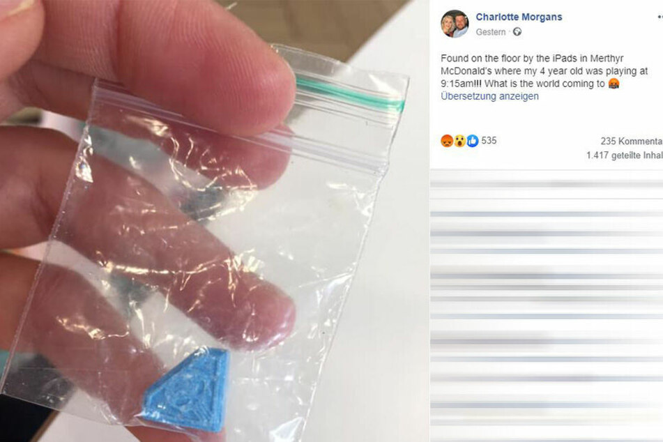 Auf Facebook verbreitete Morgans die Geschichte.
