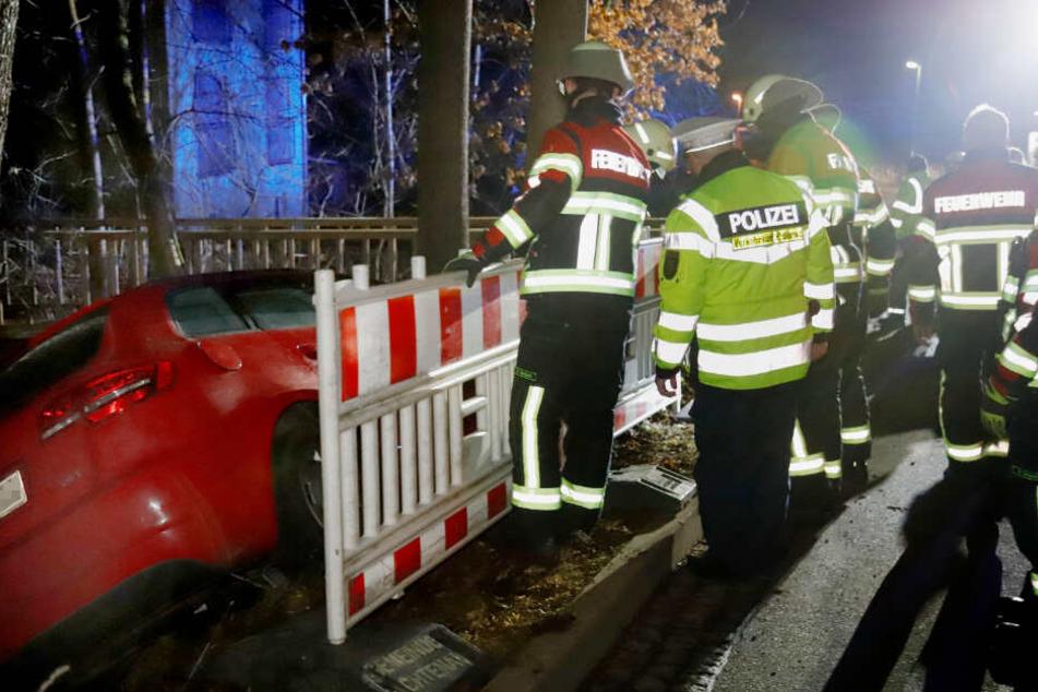 Bei dem Unfall gab es mehrere Verletzte.