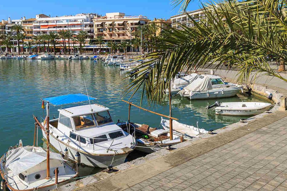 Besonders die Stadt Alcúdia im Norden Mallorcas war vom Mini-Tsunami betroffen.