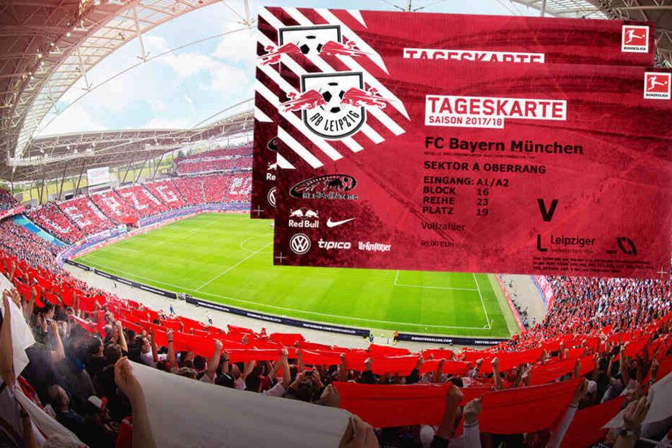 Jetzt mitmachen und Tickets für RB Leipzig gegen Bayern München gewinnen!