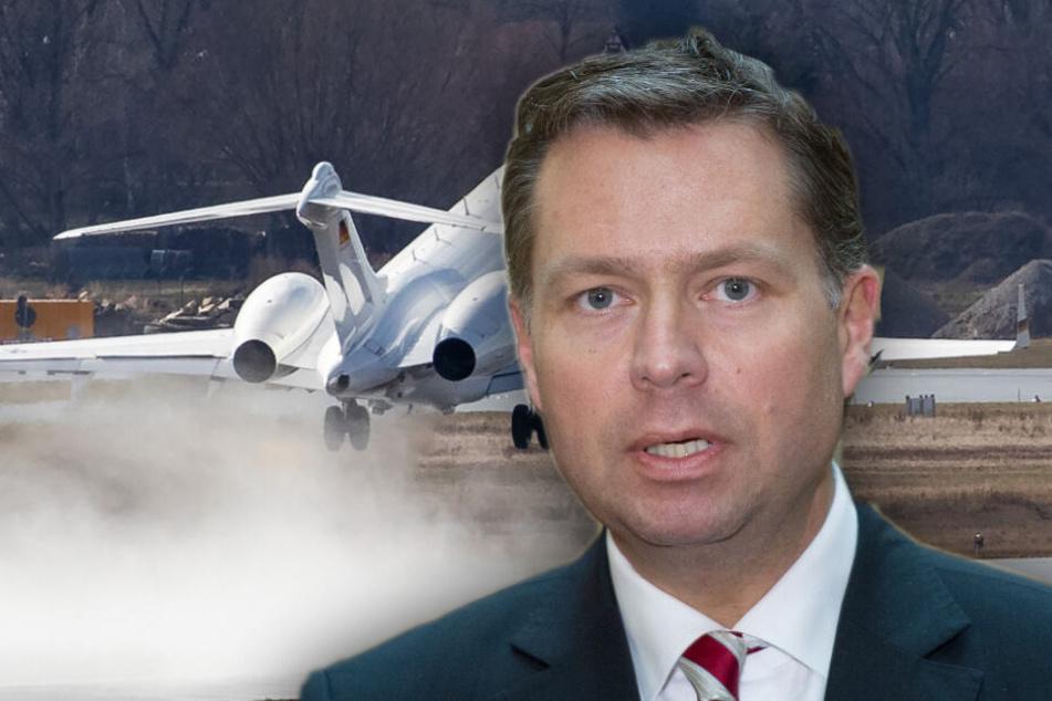 Stephan Mayer (45, CSU) will sich zu aktuellen Entwicklungen in der Luftsicherheit äußern. (Bildmontage)