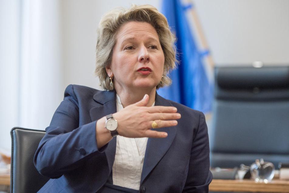 Bundesumweltministerin Svenja Schulze (49, SPD) hatte den Entwurf zur Änderung des Atomgesetzes vorgelegt.