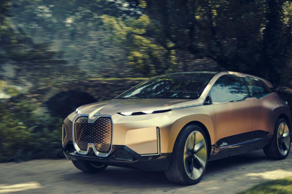 Der neue BMW iNext soll 2021 in Serie gehen.