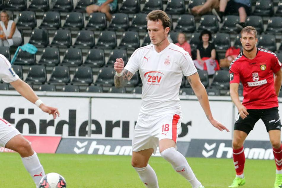Dimitrios Ferfelis soll diese Saison die Tore für den FSV schießen.
