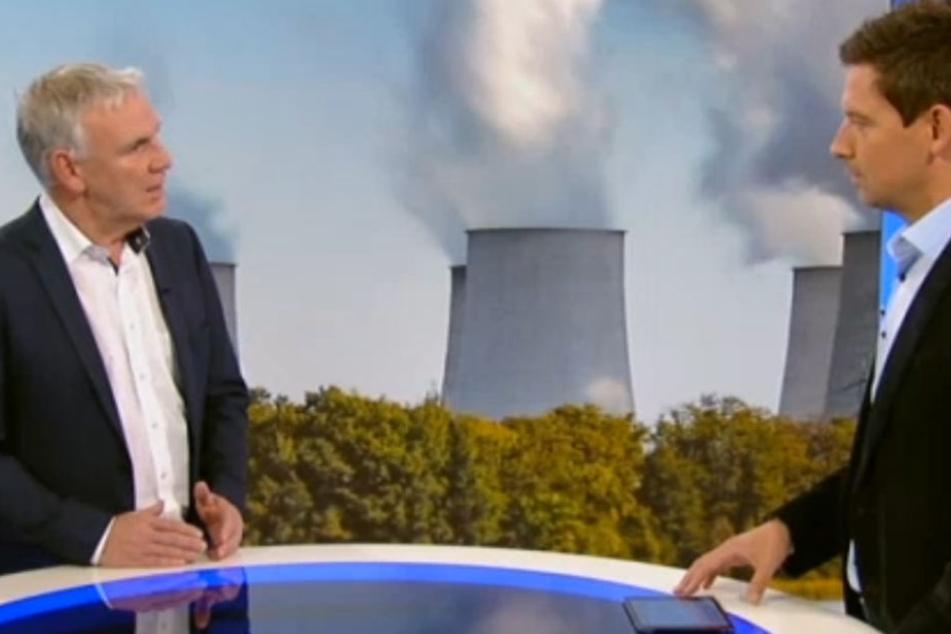 Umwelt-Staatssekretär Jochen Flasbarth im Mittagsmagazin der ARD am 8.10.2018.