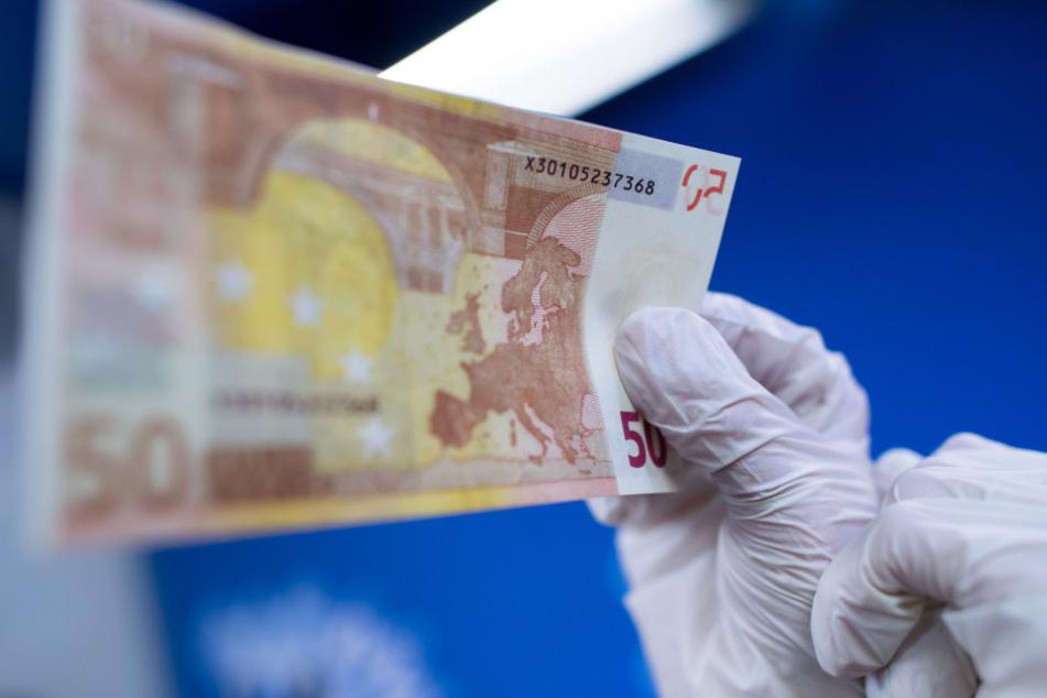 Die Polizei stellte wieder mehr Falschgeld sicher.