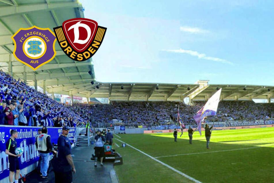 Keine Anreise ohne Ticket! Aue und Dynamo appellieren an die Fans
