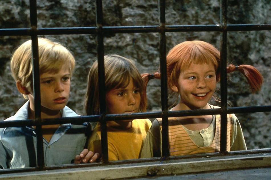 Pippi, Annika und Tommy.