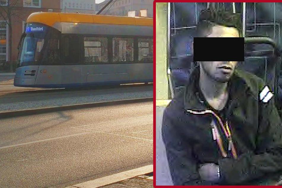 Der 23-jährige Libyer (r.) hatte am 15. Oktober in einer Leipziger Tram mit einem Gürtel auf einen Afghanen (19) eingeschlagen und ihn getreten. Nun wurde er gefasst.