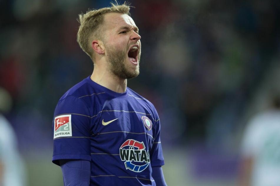 Pascal Köpke wechselte aus Aue nach Berlin.