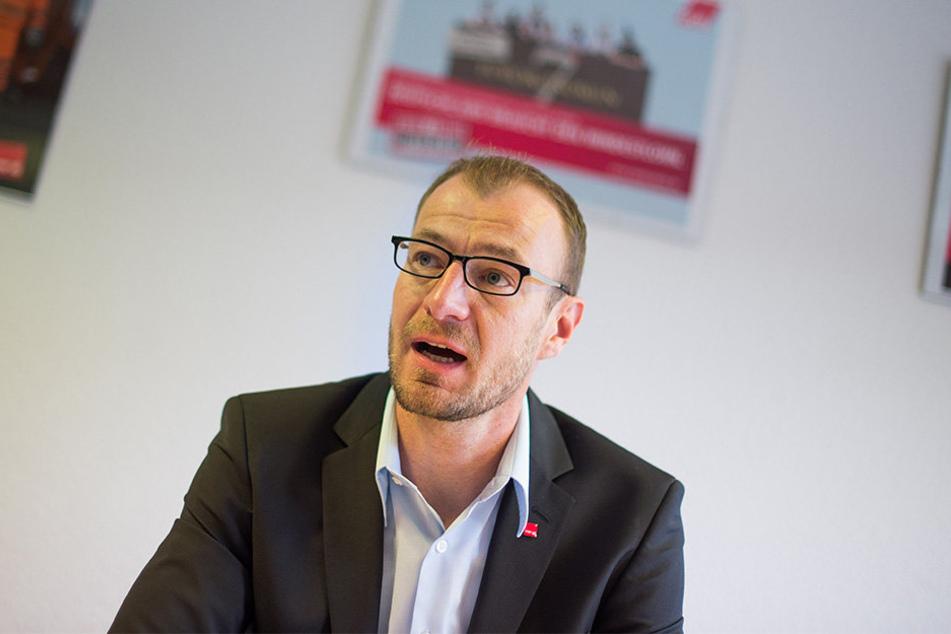 Will Entlastung und mehr Geld für Sachsens Pflegekräfte: Verdi-Landesbezirksleiter Oliver Greie