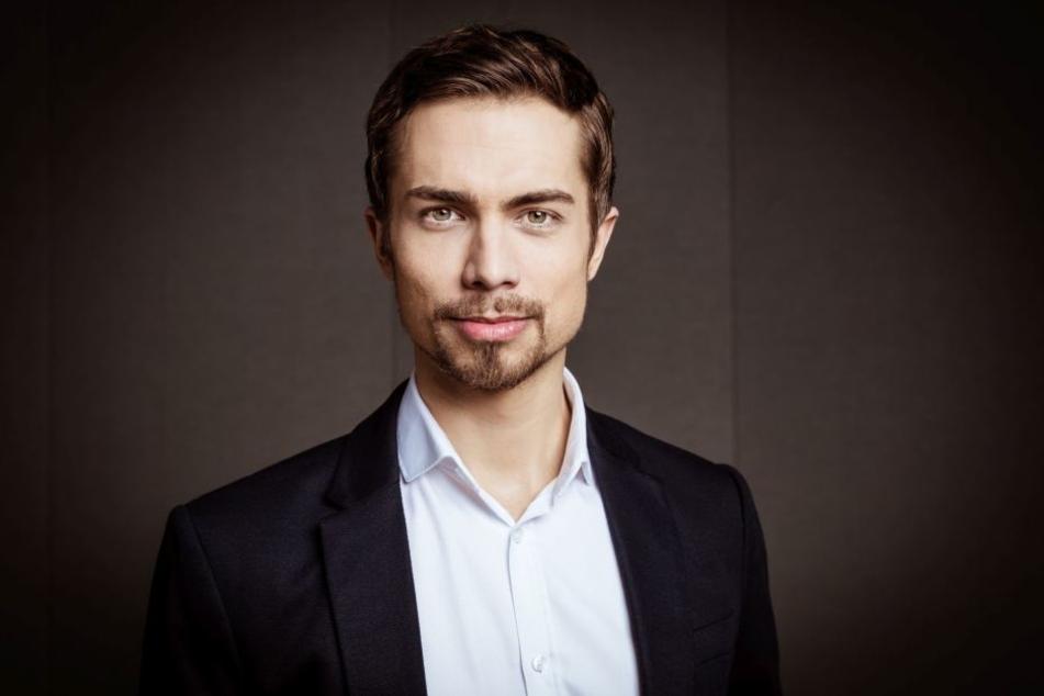 """RTL2 News""-Moderator Christoph Hoffmann (34)"