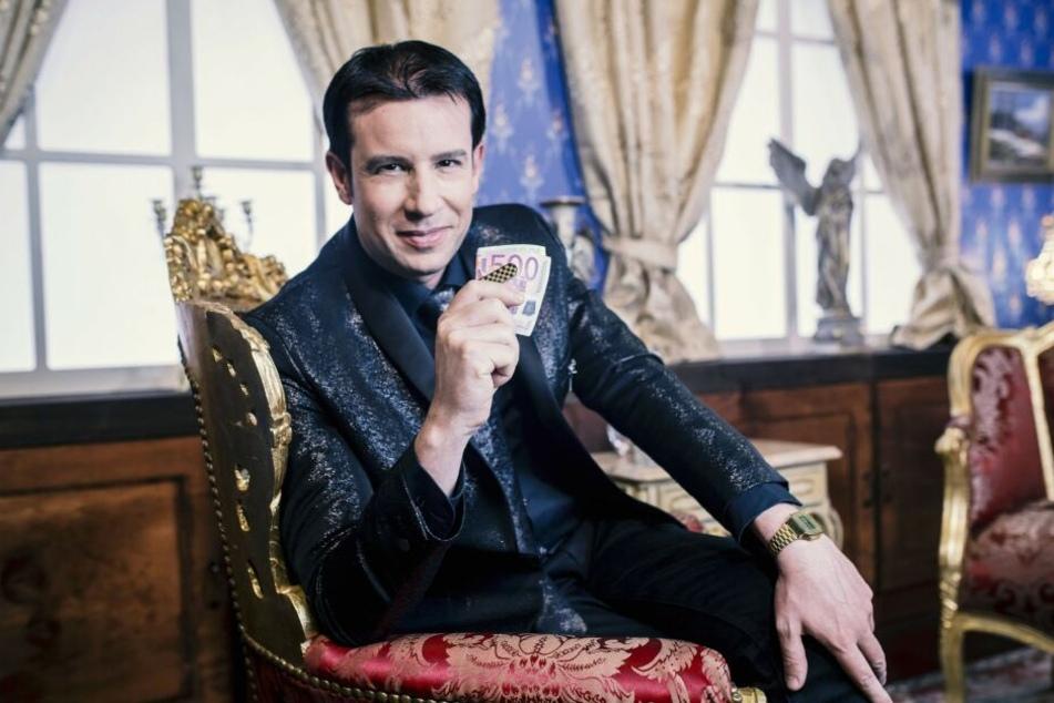 Antoine Richard war sehr interessiert an dem Spielautomaten, wollte aber die hohe Summe nicht bezahlen.