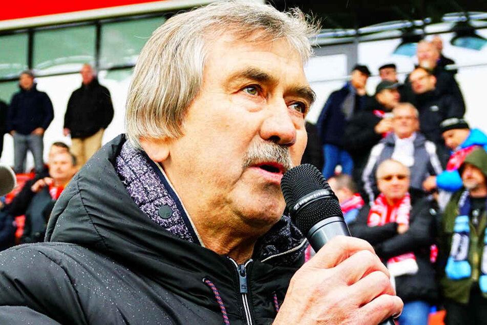 Gerd Schädlich stieg mit dem FSV, dem FCE und dem CFC auf.