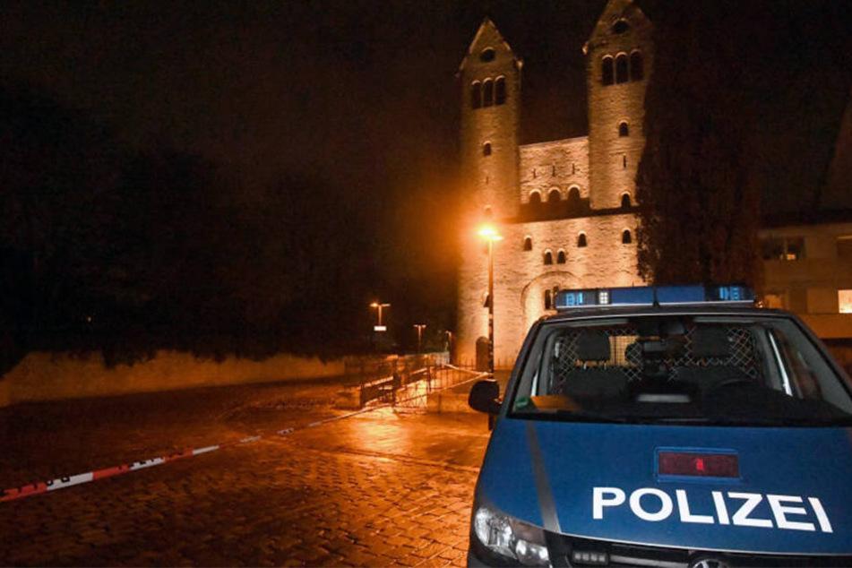 Am Abdinghof randalierte der 31-Jährige.