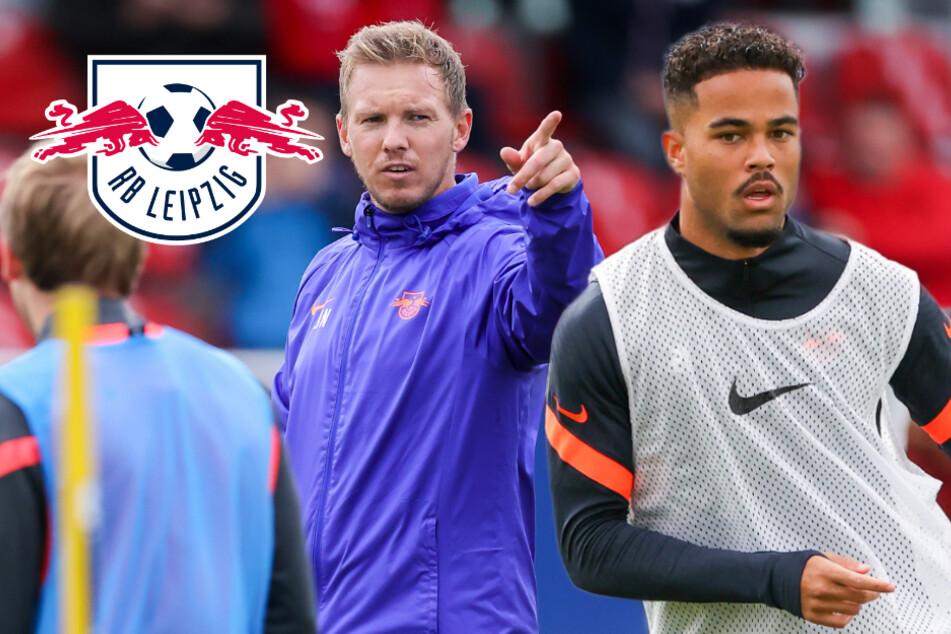 RB Leipzig trainiert erstmals wieder öffentlich, Kluivert ist schon jetzt der Star!
