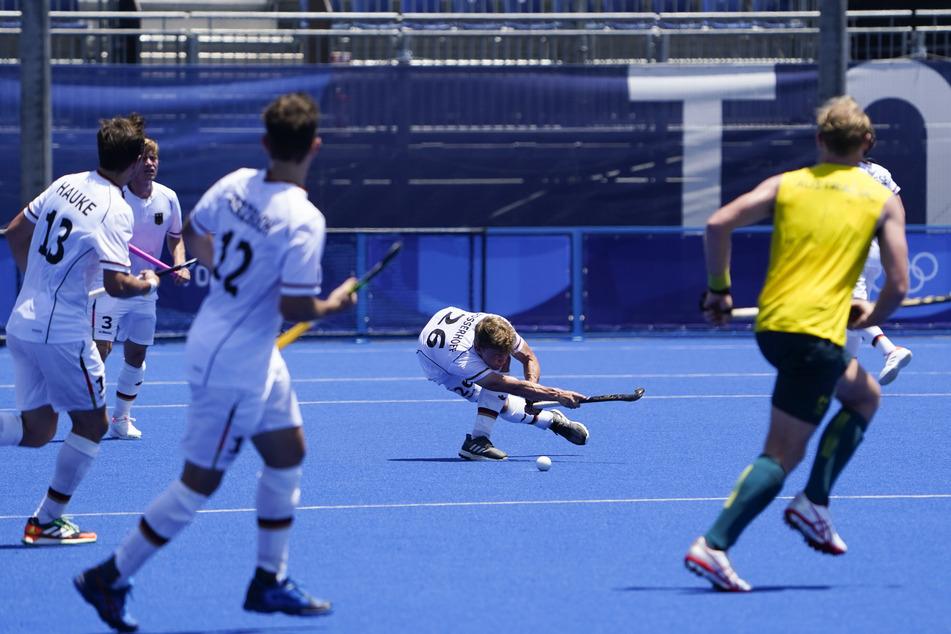 Das deutsche Hockey-Team konnte am Sonntag dann doch noch gegen Australien im Oi Hockey Stadium in Tokio antreten.