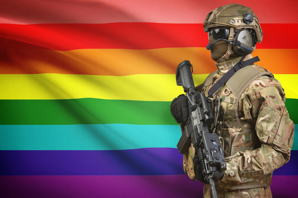 British soldiers who were stripped of their medals for being LGBTQ+ will now be able to get them back (stock image).